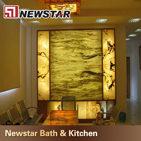 Newstar top quality laminated onyx price