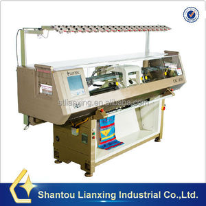 Single system change color headband making machine