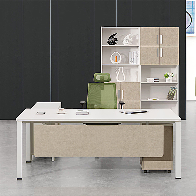 Factory Price Modern L Shape Office Furniture Table