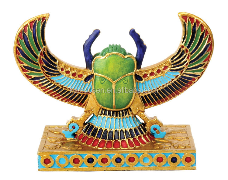 Customized Handmade Patined Poly Resin Sculpture Egypt