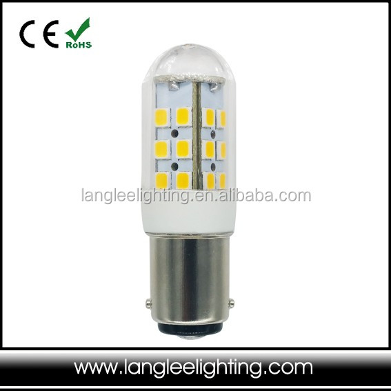Small Globe BA15D LED Bulb For Boat and Marine Multi Voltage 10-30V White and warm white