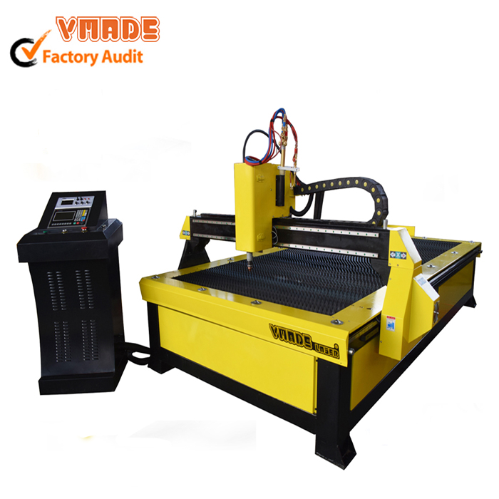 China plasma supply 100A cnc plasma cutting machine for Steel aluminum
