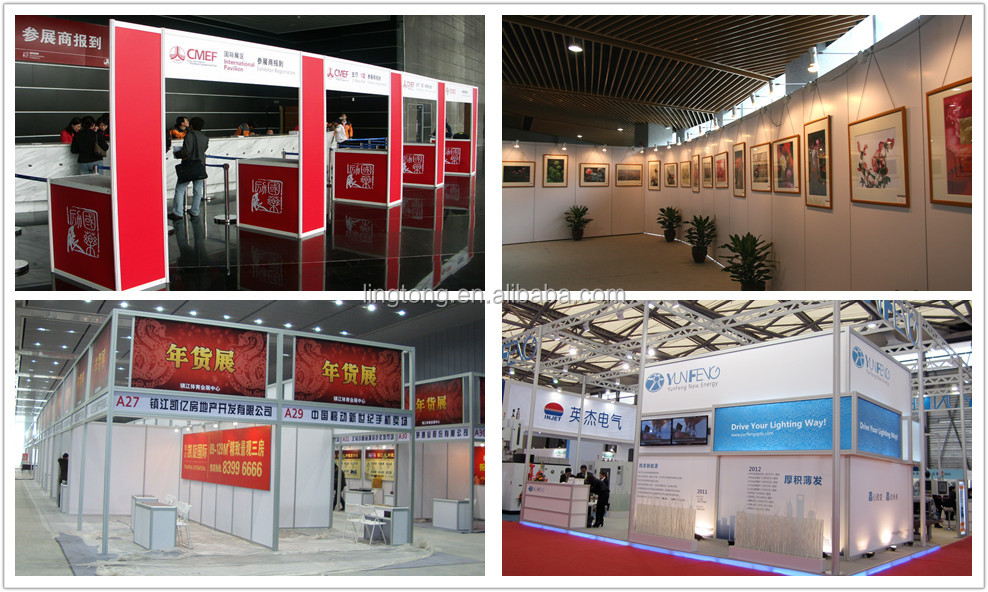 Exhibition Booth Panel Size : Pvc wall panel for aluminium exhibition display booth