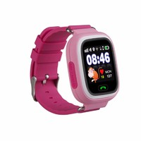 cheapest baby android sos button wifi locating smart watch phone q90