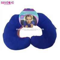 MAXECHO Chin Supporting Travel Pillow - Supports the Head, Neck and Chin in Maximum Comfort in Any Sitting Position.