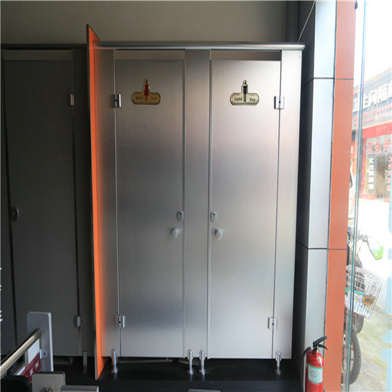 Brand new aluminum compact laminate toilet cubicles / nylon toilet partition price for wholesales