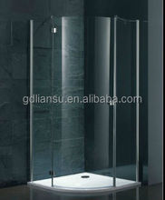 LLA1000-15 High Quality Safety Arc simple shower cabin