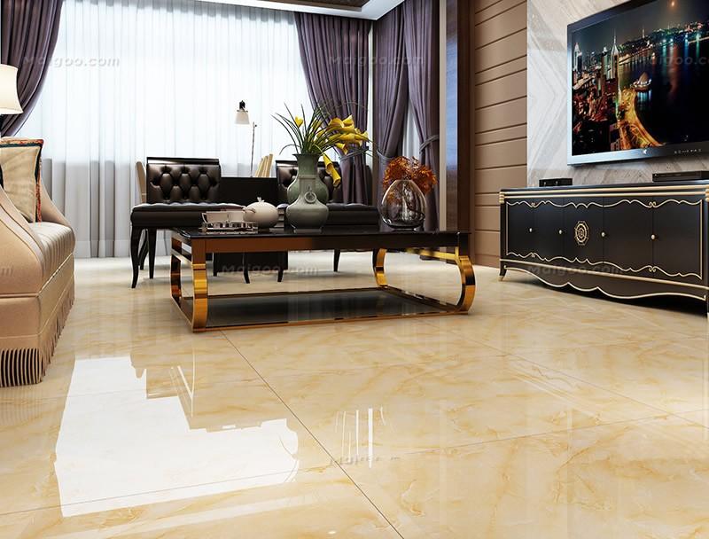 2017 New Design Kajaria Floor Tiles Living Room