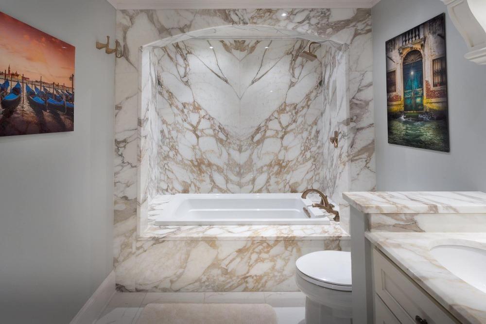 Marmeren Badkamer Vloer : Italië sovicille calacatta gold marmeren plaat voor aanrechtblad en