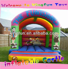 The flintstones bouncy castle