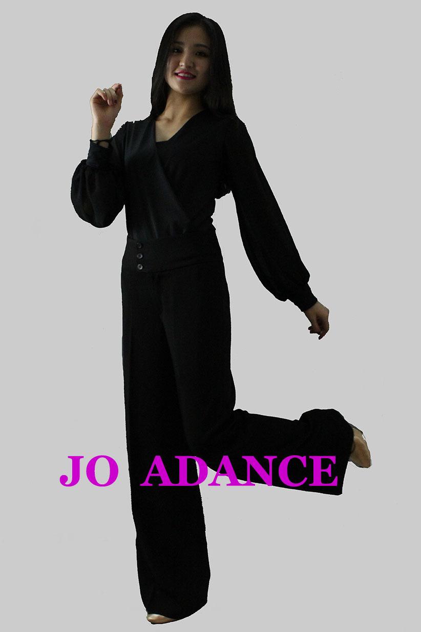 d5a5f8aa676a Valzer ballo costume MS top. Abbigliamento danza internazionale di danza  standard lungo- top maniche