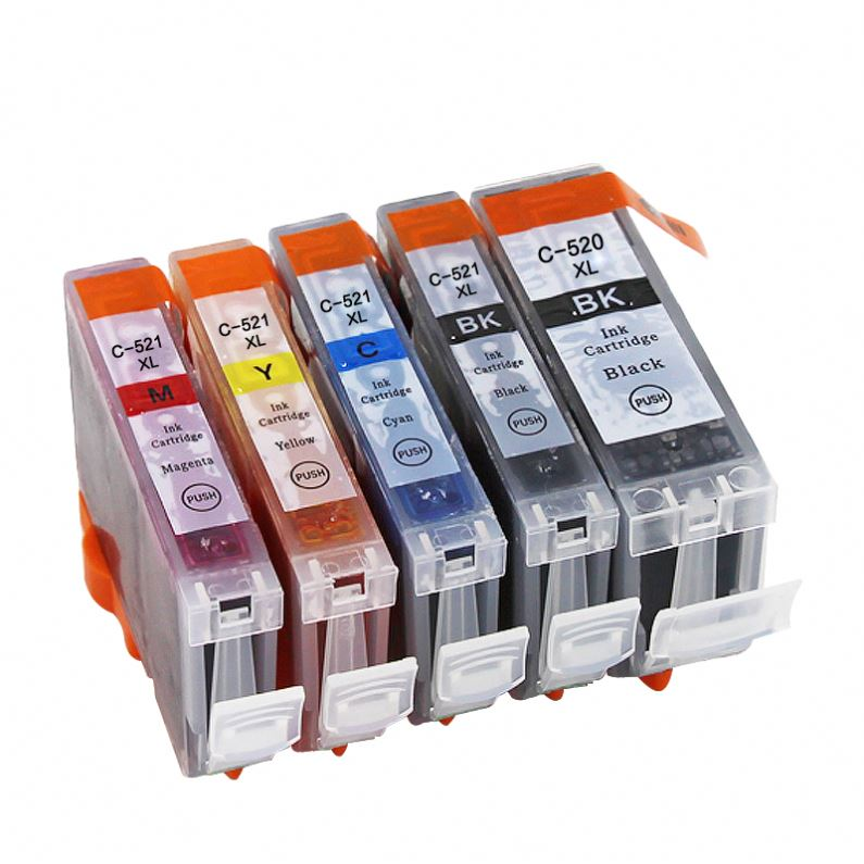 compatible ink cartridge for canon PG520 / CL521 printer ink cartridge for canon PIXMA MP540/MP550/MP558