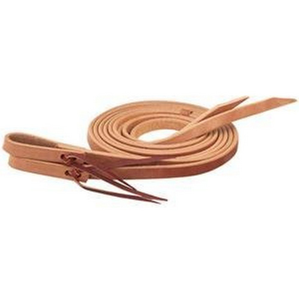 Single-Ply Heavy Harness Leather Split Reins 3/4 in x 8 ft