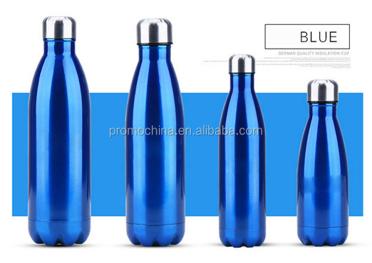 High Quality Double Wall Stainless Steel Bottle With Logo Promotional Thermos Flask For Advertising Gift