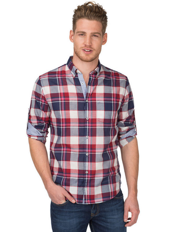 buy popular 1faf5 134be long sleeve fashion 100% cotton shirts for men united kingdom style design