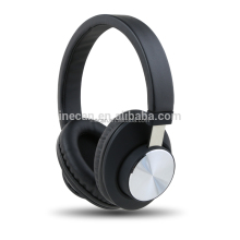 Aluminum ear cup hi-fi stereo bluetooth headsets with CD pattern