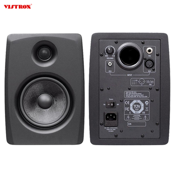 High Quality Surround Sound Portable Wireless Stereo  BT Active Monitor Speaker
