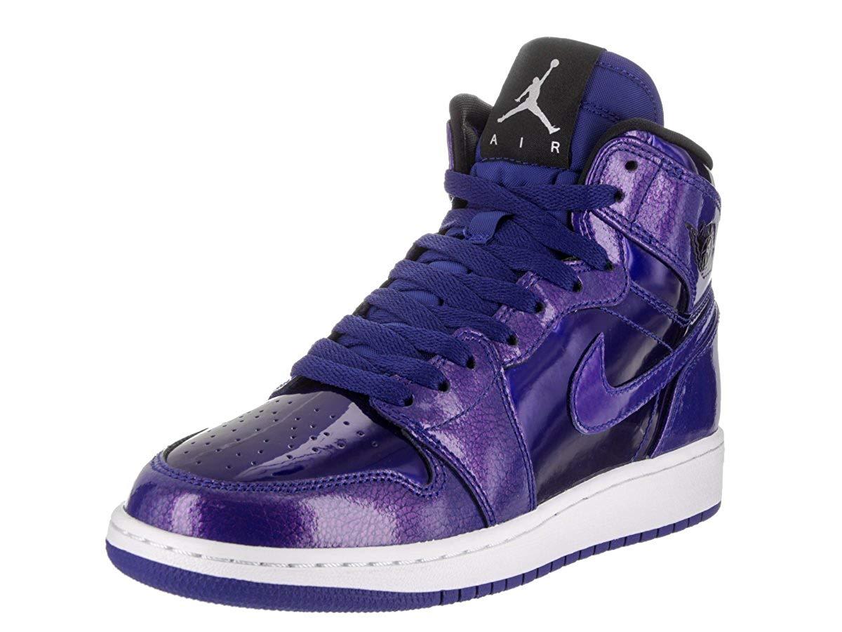 cheap for discount f8824 65dc0 Get Quotations · NIKE Jordan Kids Air Jordan 1 Retro High Bg Deep Royal  Blue Black White