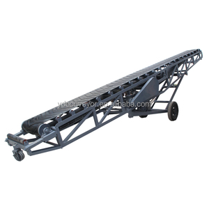 Luggage belt conveyor machine