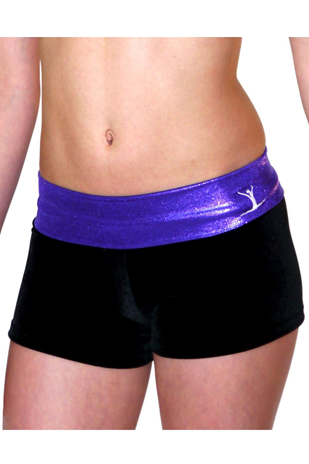 76df1548608 Get Quotations · TW Purple Black Hipster Shorts