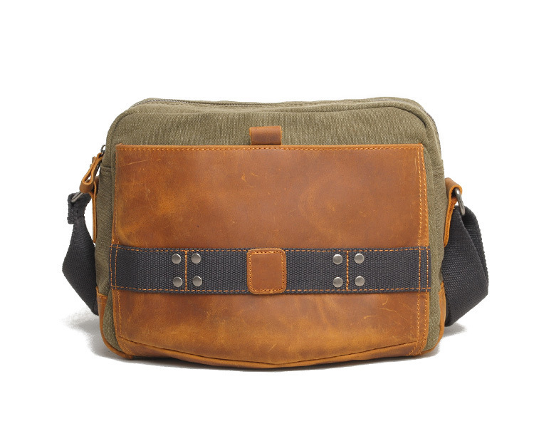 Get Quotations · New men messenger bags vintage style canvas high quality  gray blue army green brown Casual shoulder d71a456d59f40