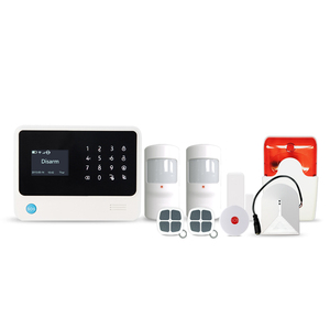 Zwave and Zigbee compatible home security system with long range communication