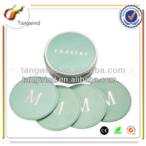 TW1222 Eco-friendly Promotional Customized High Level Stainless Steel Cup Mat