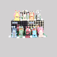 2019 Hot Sale New Design One Piece Den Den Mushi Cute Cartoon Character Toy Anime Figure 9pcs per set
