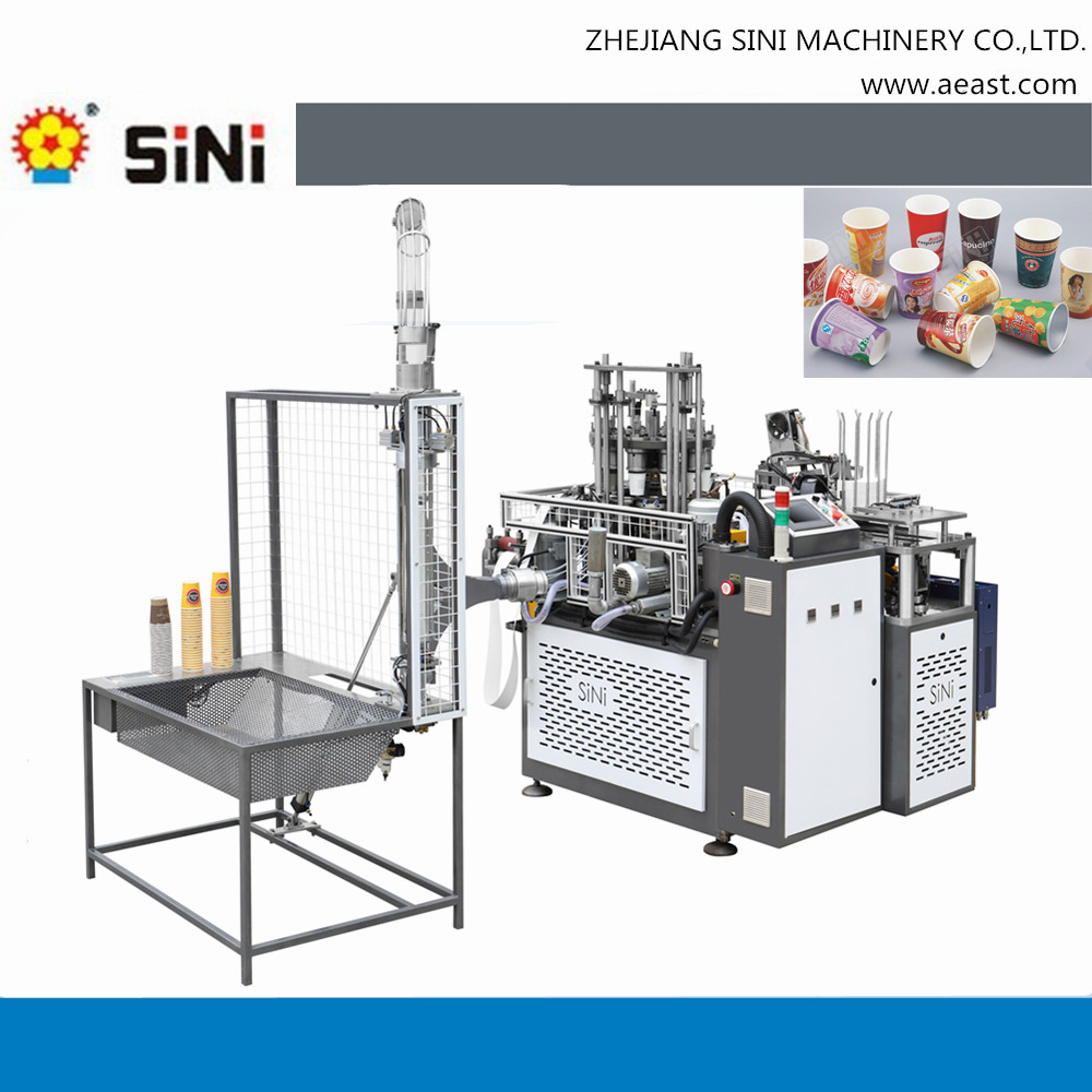 SINI automatic china disposable paper cup ultrasonic paper cup machine
