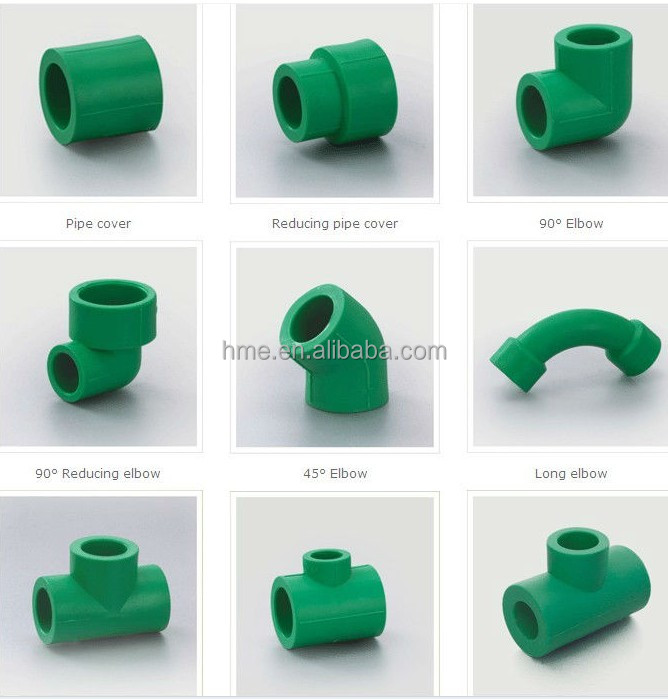 All types of ppr and pvc pipes and fittings buy ppr and for Types of plastic pipes