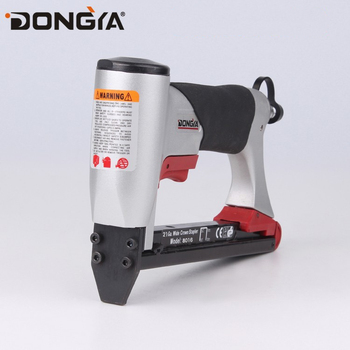 21 Ga. 8016 Upholstery Sofa Air Nail Gun Stapler Pin Machine Pneumatic Stapler Gun