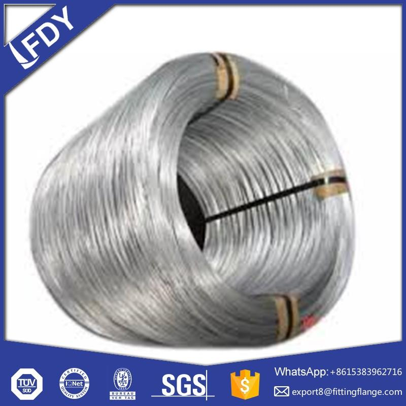 the largest manufactory electro galanized wire/hot dipped galvanized steel wire