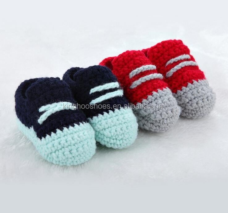 Zapatillas De Ganchillo Zapatos,Algodón Crochet Zapatos Para Bebés ...