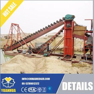 Bucket Chain Sand/Gold Mining Dredge Excavator