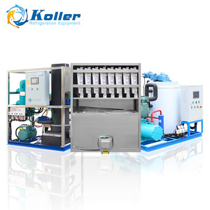 Koller Ice Cube/Block/Flake/Tube Making Machine Ice Maker for Drinking/fish/meat/vegetables/fruits