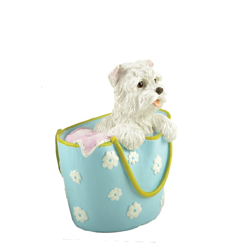 Polyresin unique dog themed gifts for pet lovers