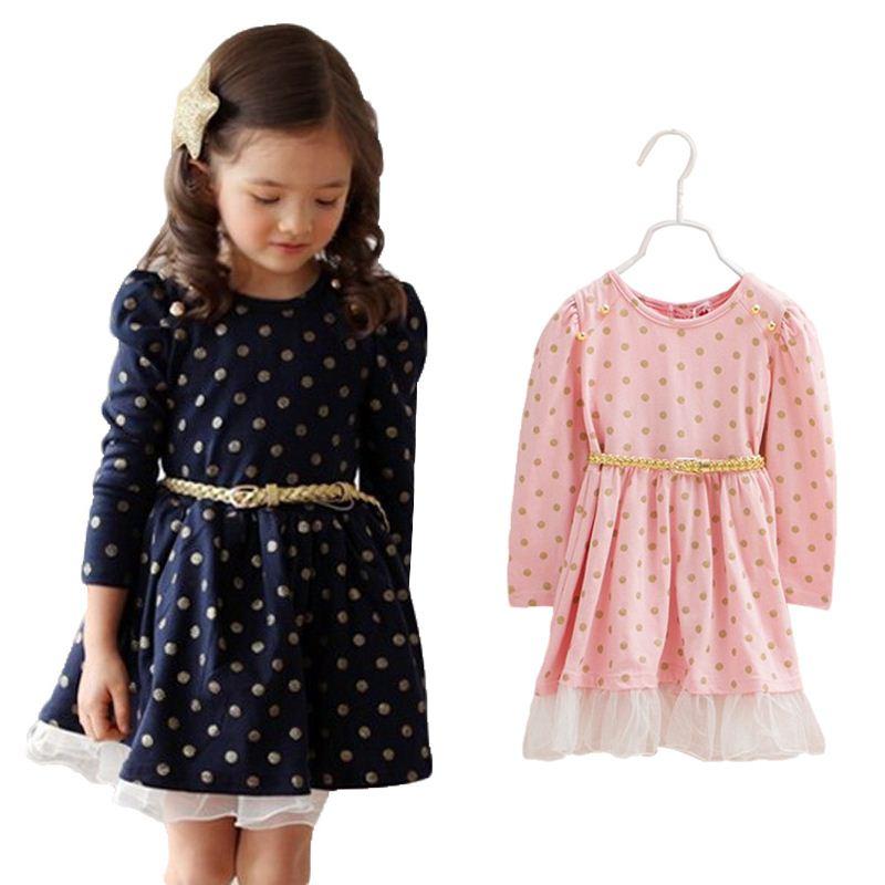 Платья на девочек от 3 до 8 лет