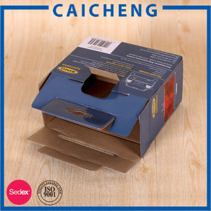 Corrugated packaging box for car light LED light cardboard packaging