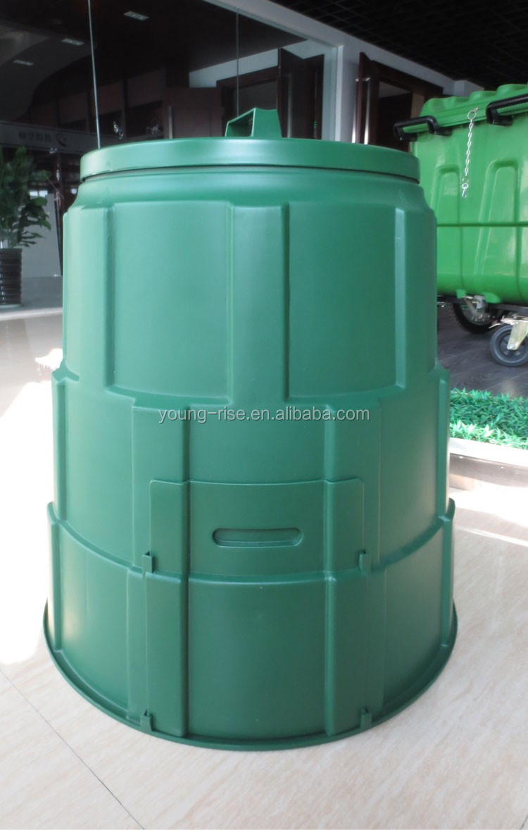 Superior 130L Durable Outdoor Plastica Bidoni Compost Per Letame