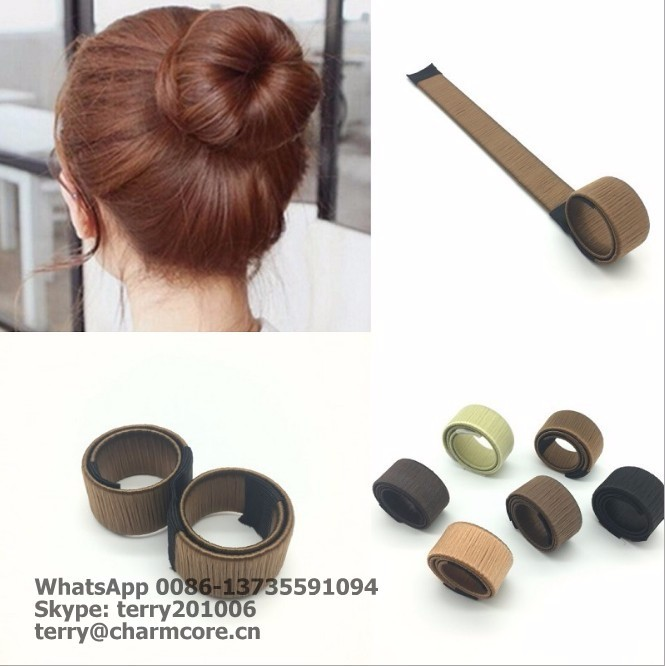 <strong>Hair</strong> <strong>Accessories</strong> Synthetic Wig Donuts Bud Head Band Ball French Twist Magic DIY Tool Bun Maker Sweet French Dish Made <strong>Hair</strong> Band