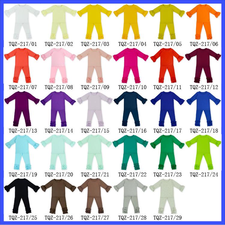 5bc1687ab454c Baby Black Triple Ruffle Icing Pants Children Cotton Ruffle Leggings Little  Girls Boutique Colorful Frosting Pants - Buy Little Girls Boutique ...