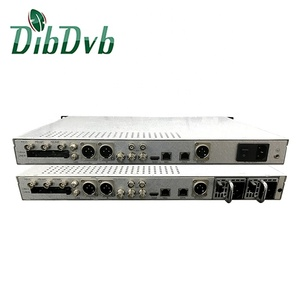 DVB-S2 CI slot to 1 hd mi/ 2 sdi/av h.265 decoder and ird with asi/ip input
