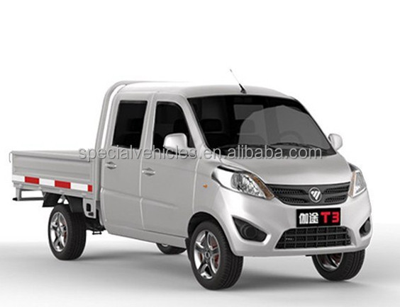 Double Cab 1-3 ton mini truck type 1.2-1.5L gasoline engine pick up mini truck