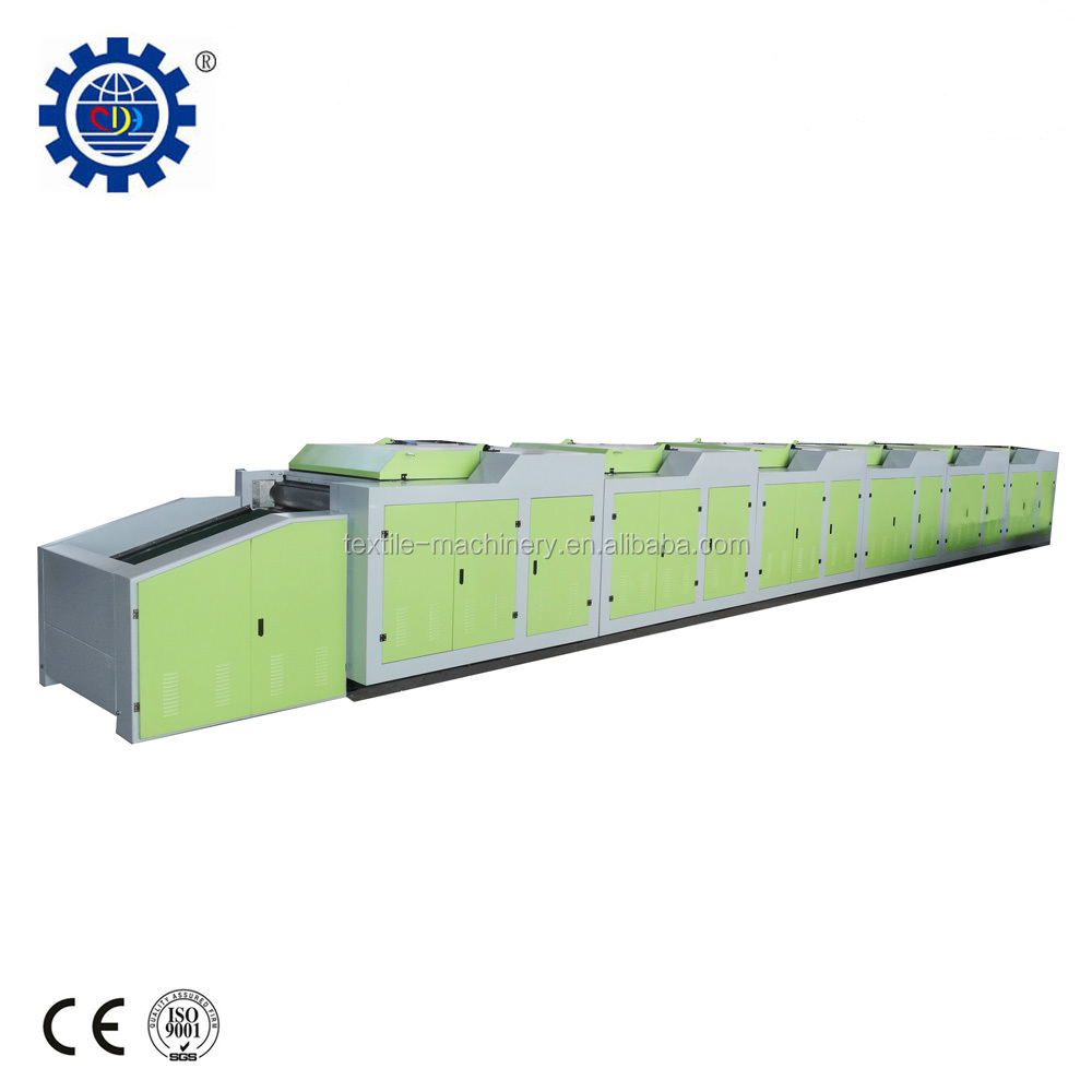 Fabric/textile/cotton waste recycling machine