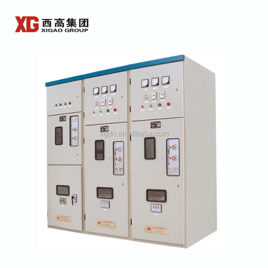 HXGN -12 series 3 phase fixed type 11kv switchgear distribution board supplier