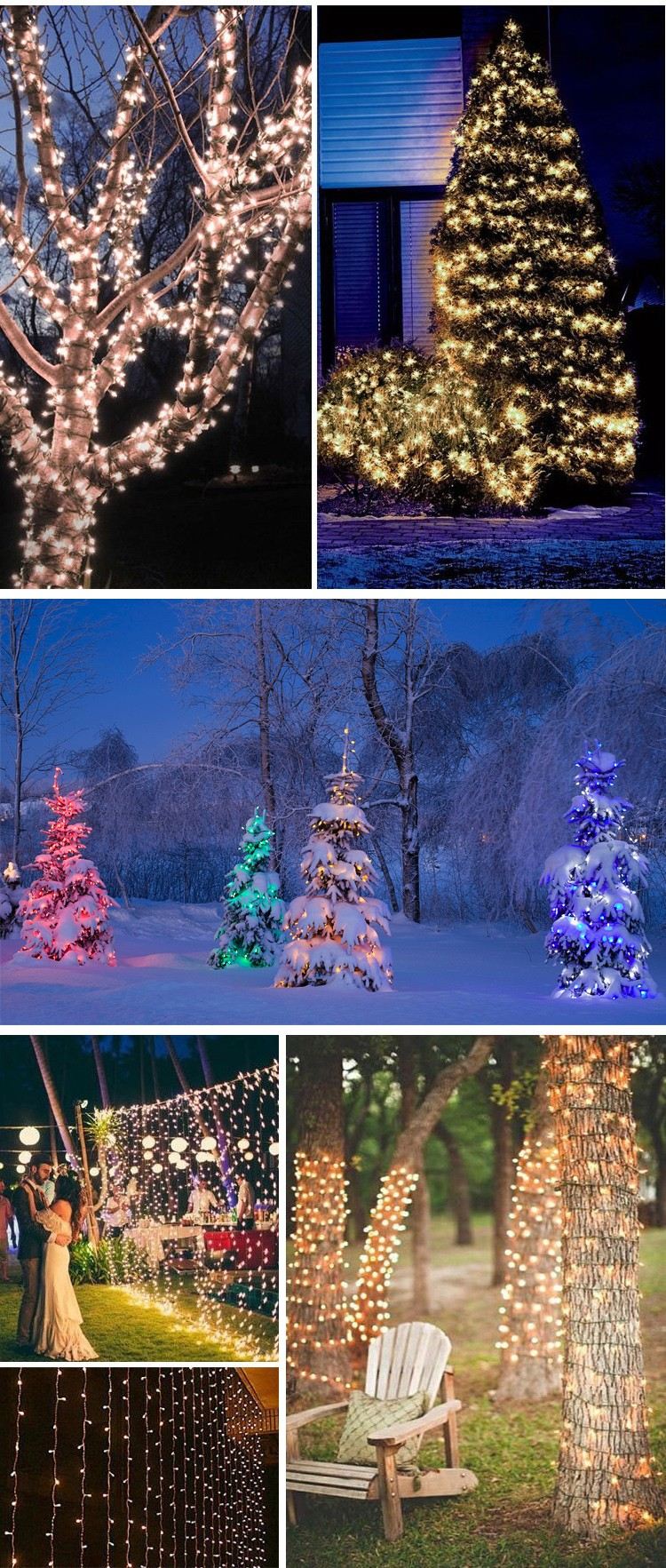 Led holiday time control battery light for outdoor for Cheap outdoor christmas lights