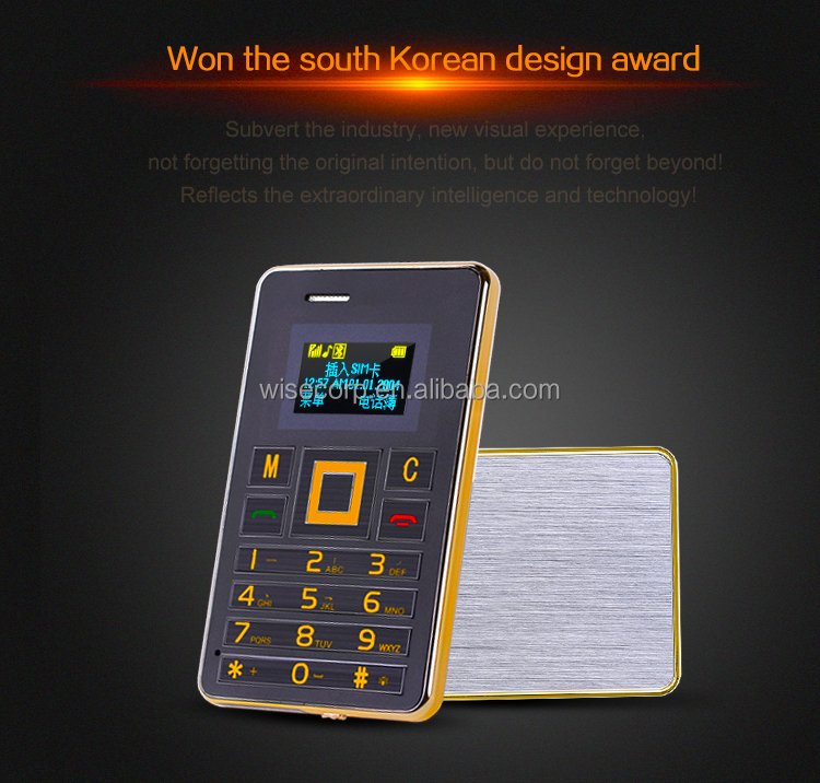 Hot Selling Card Phone Aeku K5 0.96inch Oled Screen 2g Gsm Phone ...