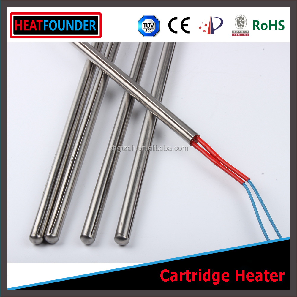 HEATFOUNDER 120V 200W 8mm x 220mm Cartridge Heater Elements Electric Heating Rods Supplied by Factory Directly