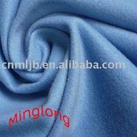 Tricot Brushed Mercerized Velvet Plain Warp Knitted Fabric