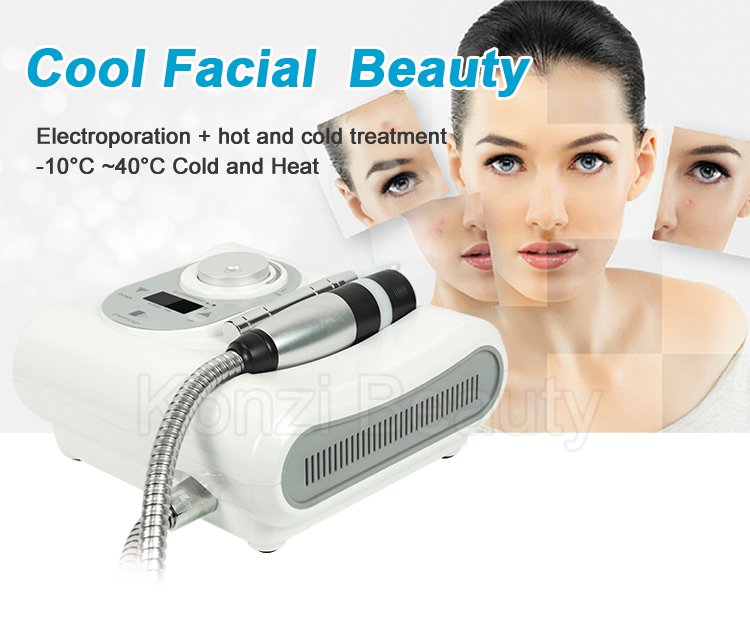 Professional 2 In 1 Electroporation Skin Cool Machine Anti Aging  Machine/cryo Facial Skin Cooling Device - Buy Skin Cool Machine,Cryo Skin  Cooling